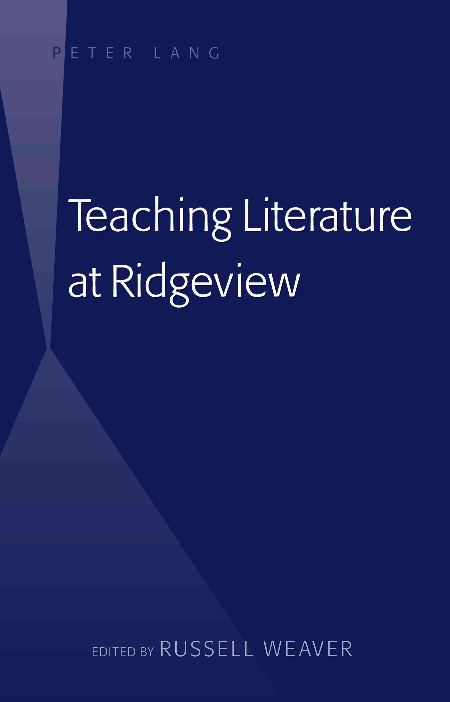 Teaching Literature at Ridgeview