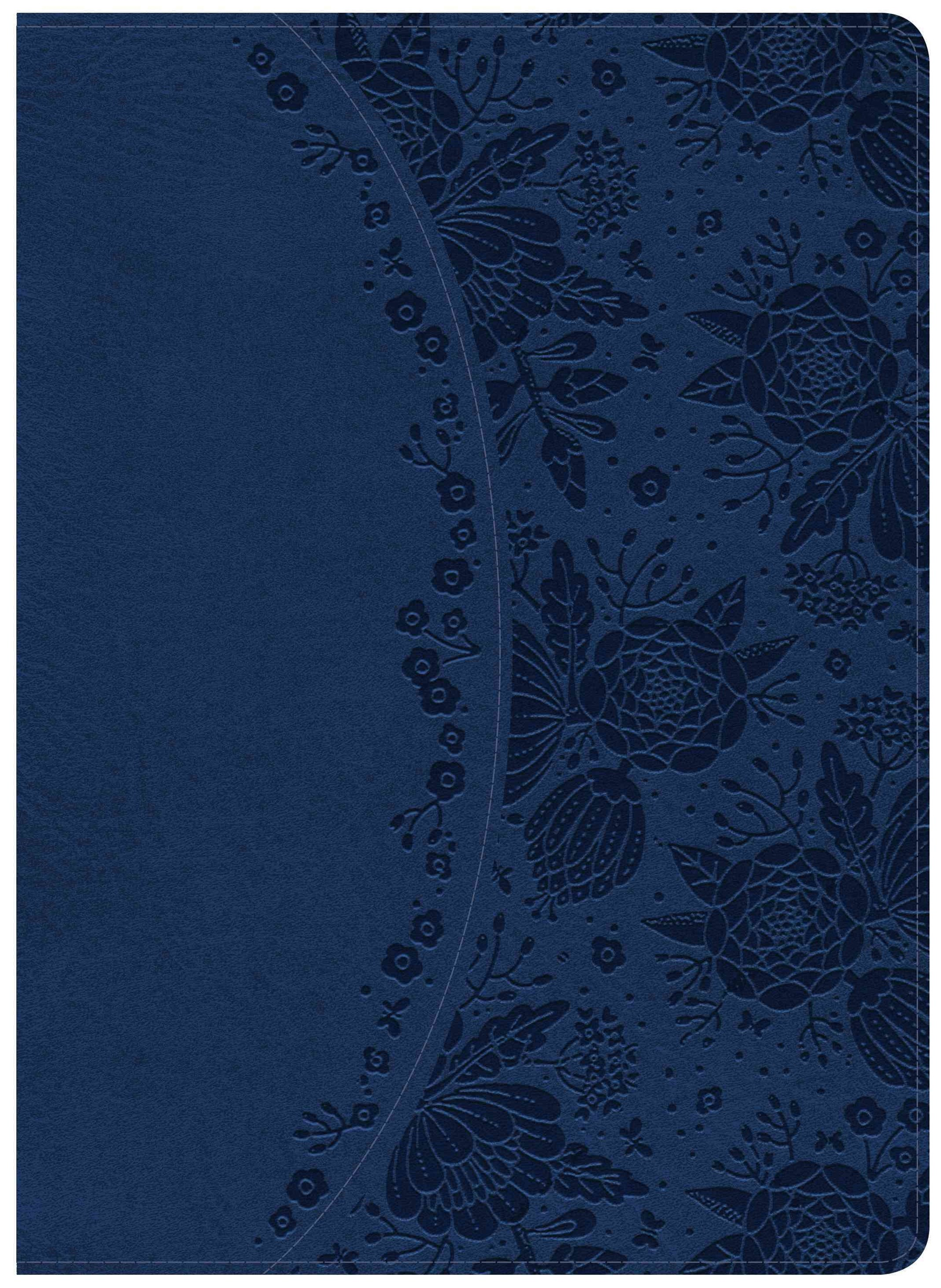 Holman Study Bible: NKJV Edition, Indigo LeatherTouch, Indexed