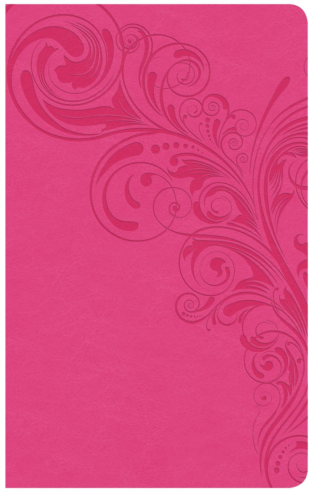 CSB Ultrathin Reference Bible, Pink LeatherTouch, Indexed