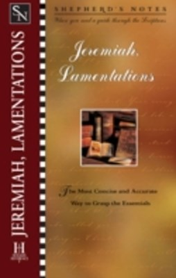 (ebook) Shepherd's Notes: Jeremiah & Lamentations