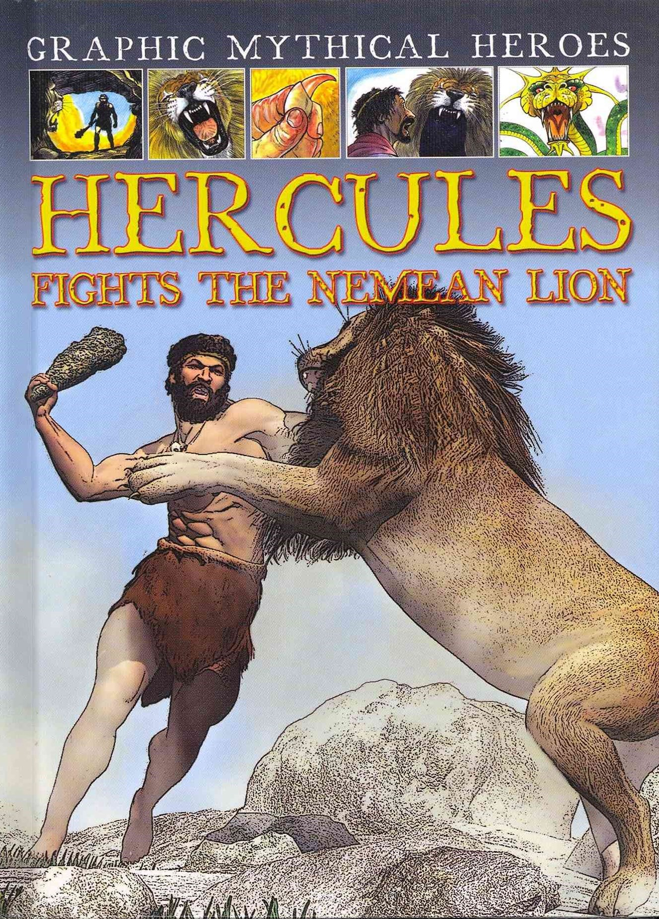 Hercules Fights the Nemean Lion