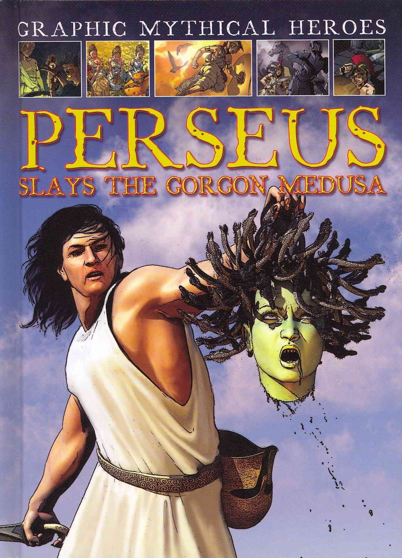 Perseus Slays the Gorgon Medusa
