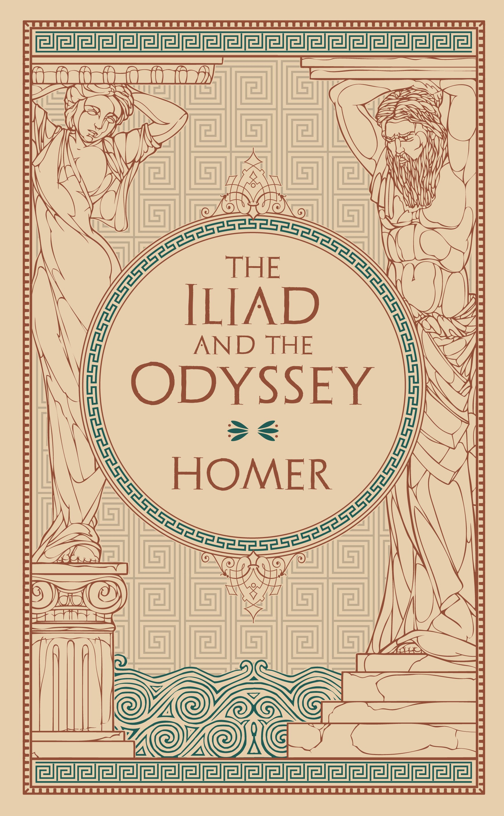Iliad & the Odyssey (Barnes & Noble Omnibus Leatherbound Classics)