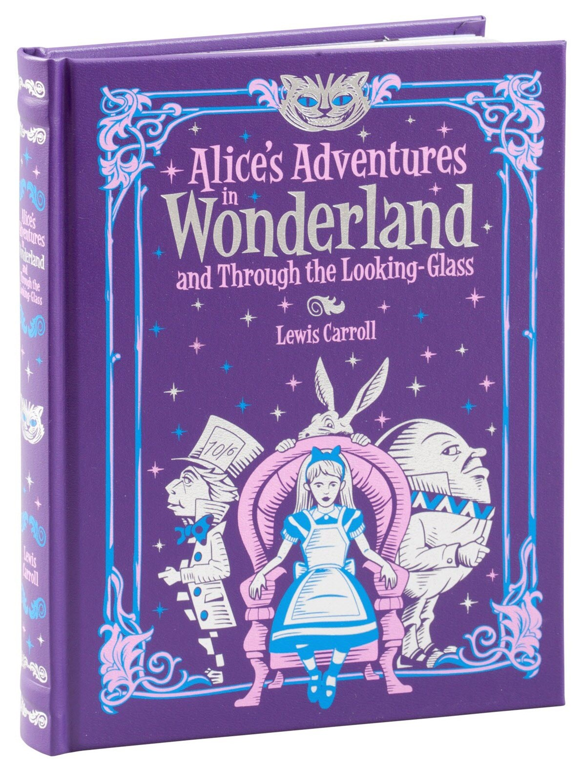 Alice's Adventures in Wonderland and Through the Looking Glass (Barnes & Noble Children's Leatherbo