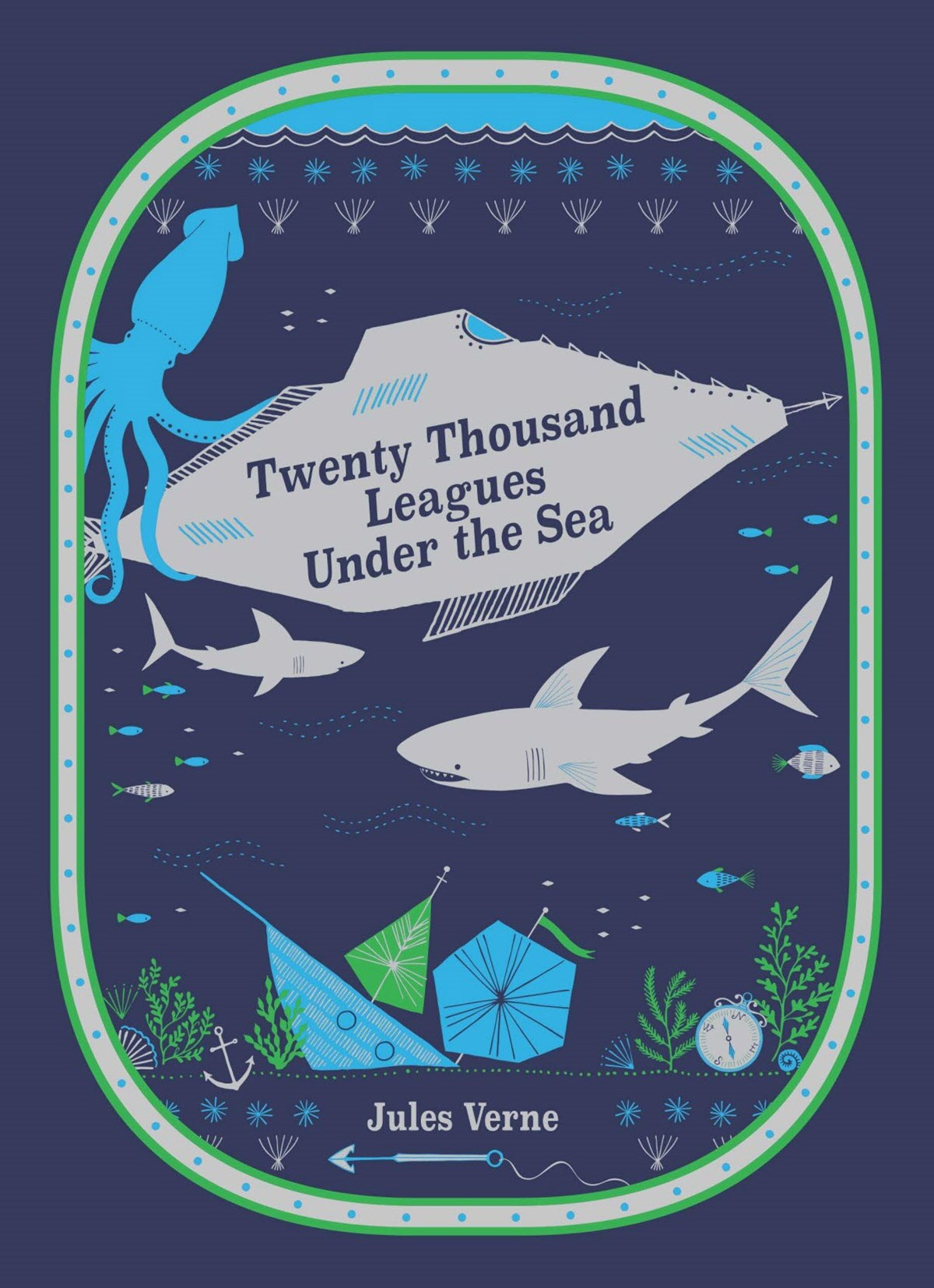 Twenty Thousand Leagues Under the Sea (Barnes & Noble Children's Leatherbound Classics)