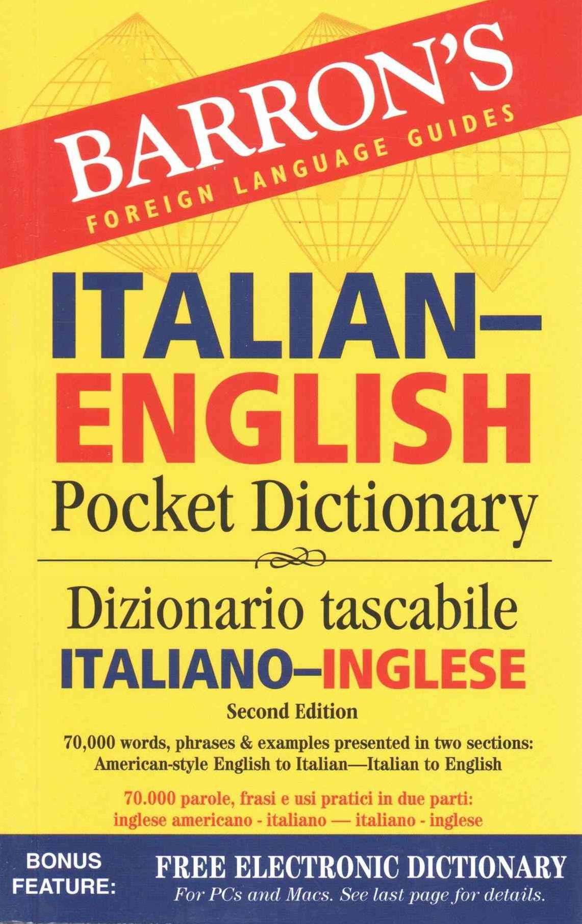 Barron's Italian-English Pocket Dictionary