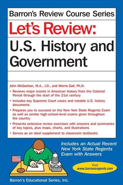 Let's Review U. S. History and Government