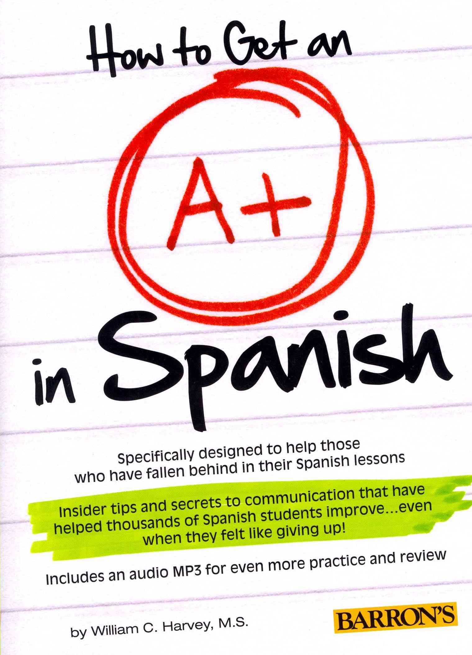 How to Get an A+ in Spanish with MP3 CD