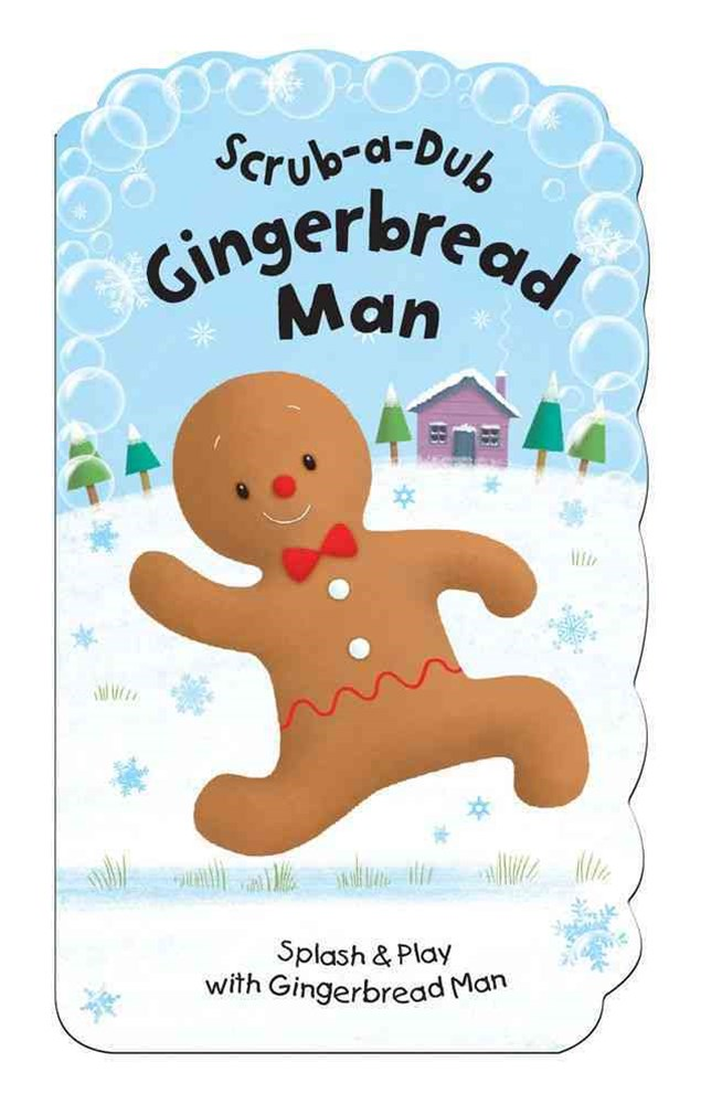 Scrub-A-Dub Gingerbread Man
