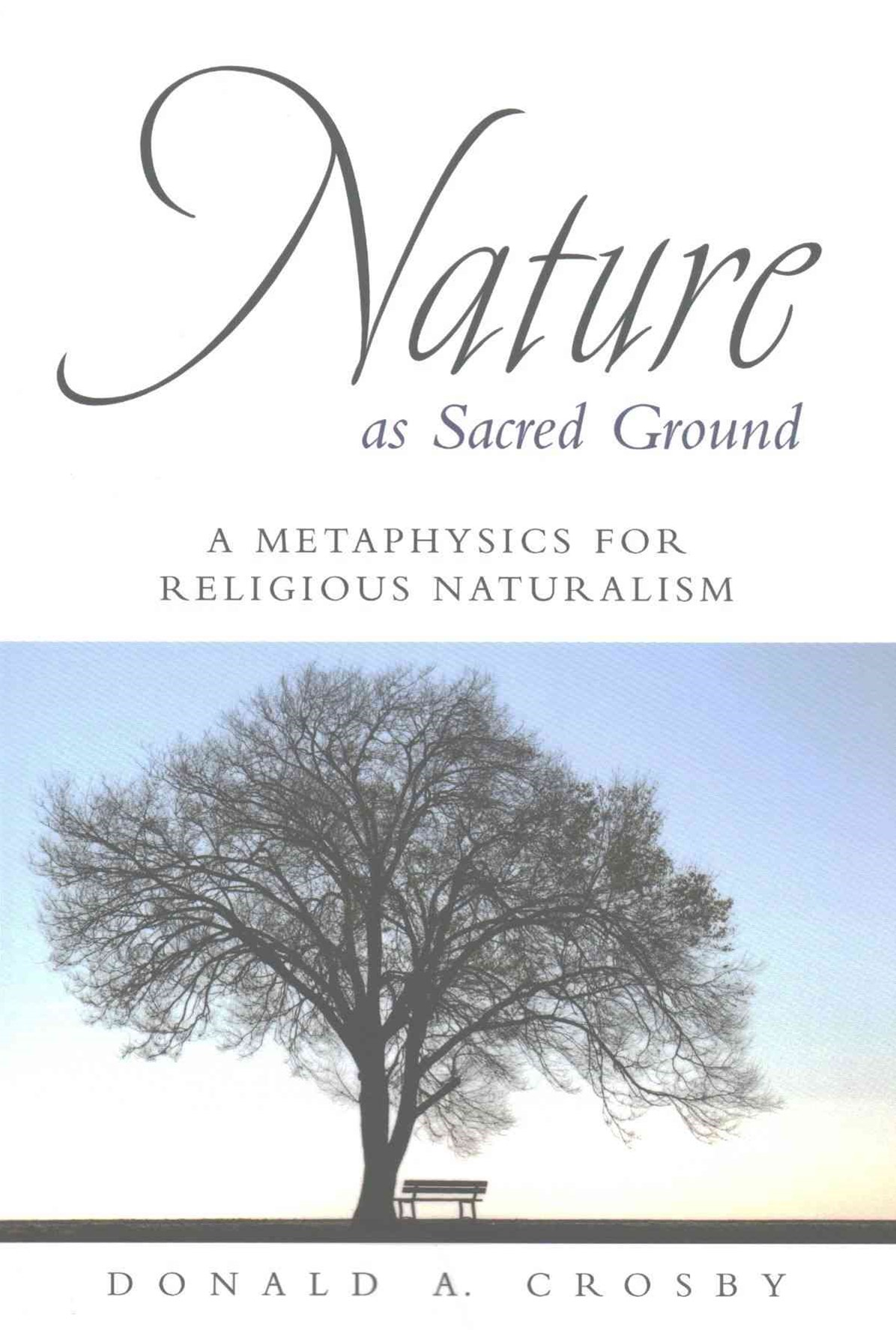 Nature As Sacred Ground