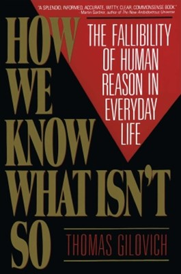(ebook) How We Know What Isn't So