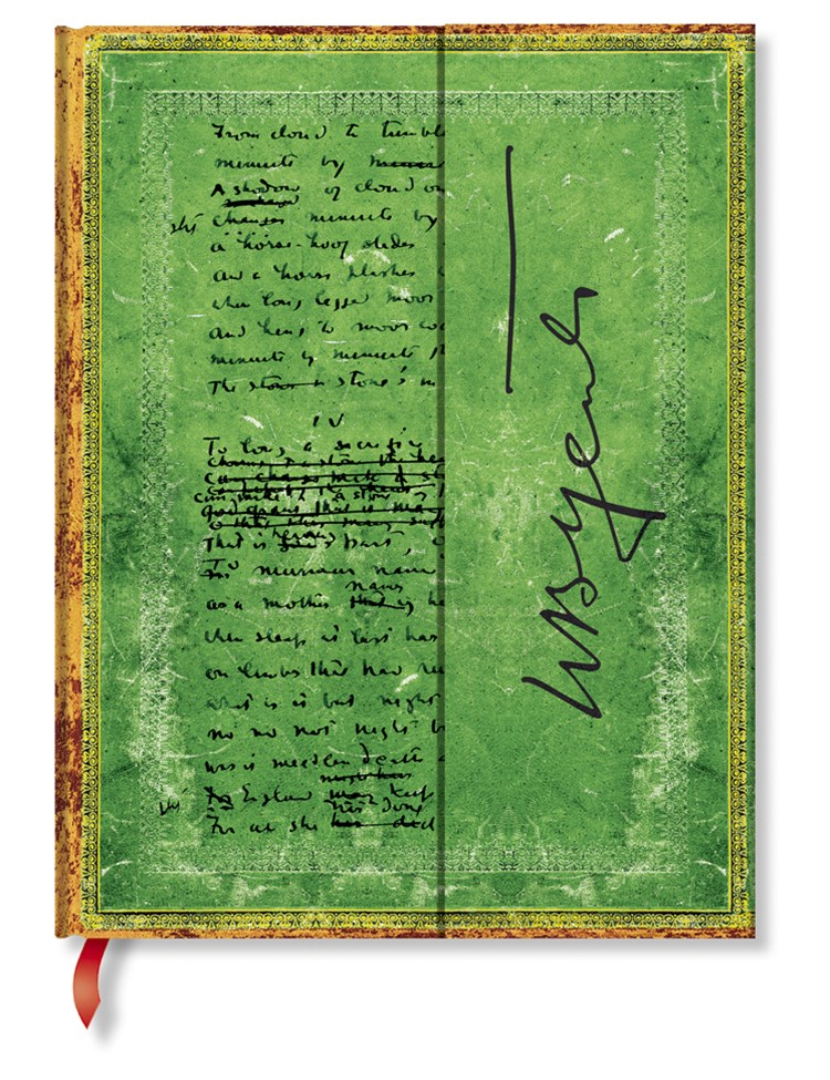 EMBELLISHED WB YEATS ULTRA LINED JOURNAL