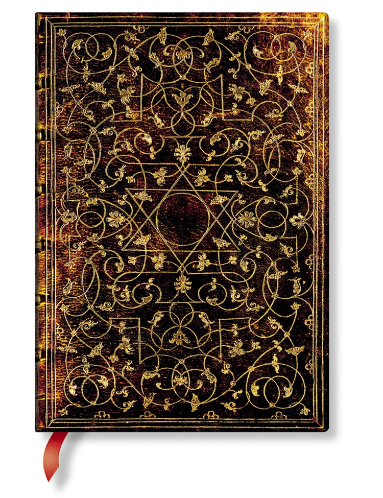 GROLIER ORNAMENTALI MIDI LINED JOURNAL E
