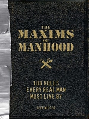 (ebook) The Maxims of Manhood