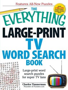 Everything Large-Print TV Word Search Book by Charles Timmerman (9781440566837) - PaperBack - Craft & Hobbies Puzzles & Games