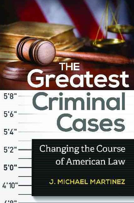 The Greatest Criminal Cases