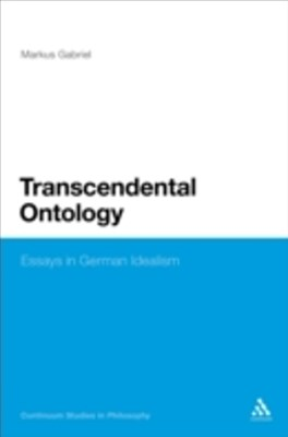 (ebook) Transcendental Ontology