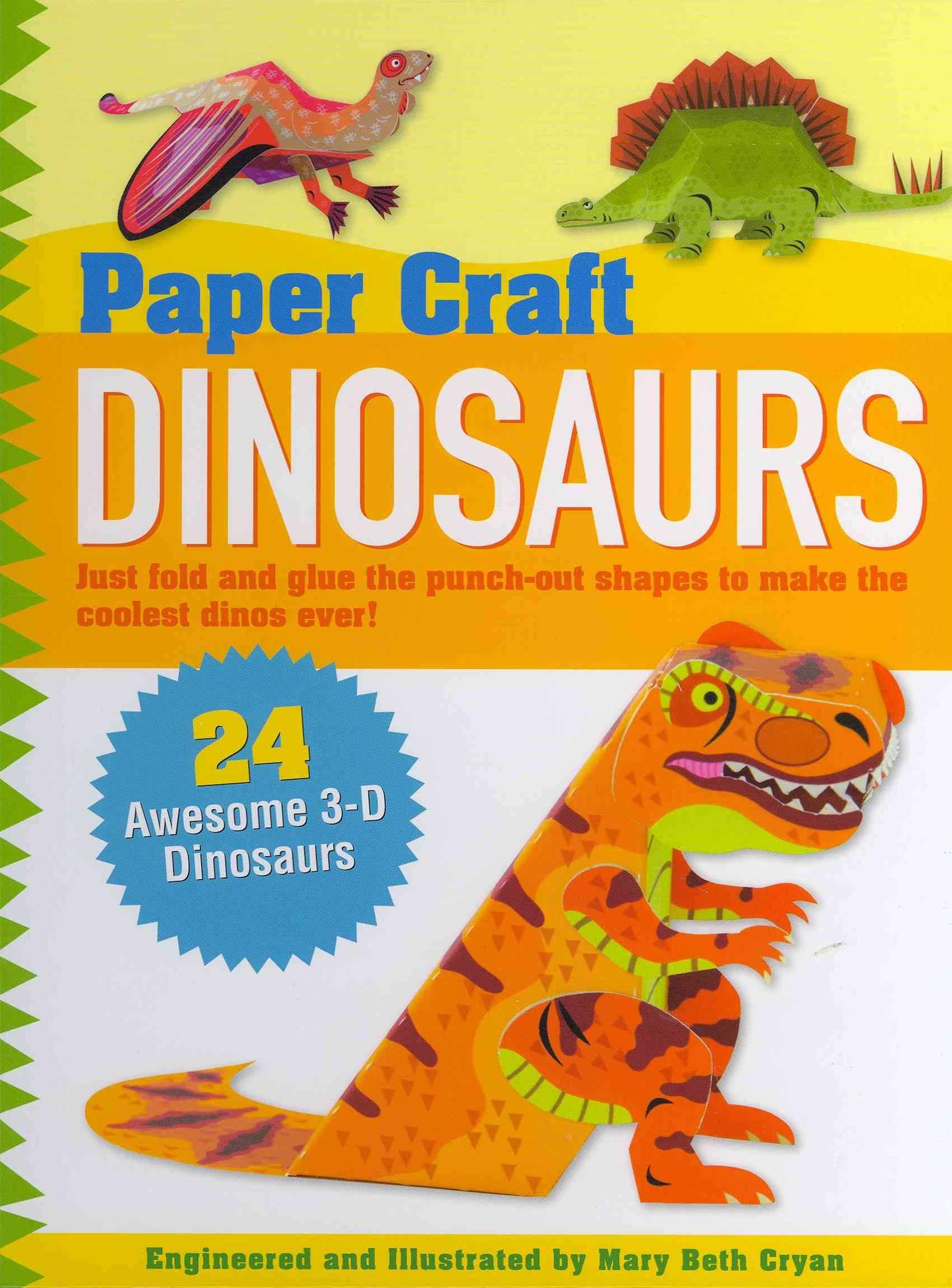 Paper Craft Dinosaurs