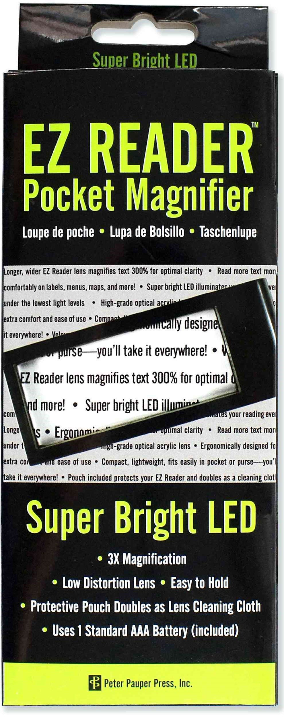 Ez Reader Led Pocket Magnifier