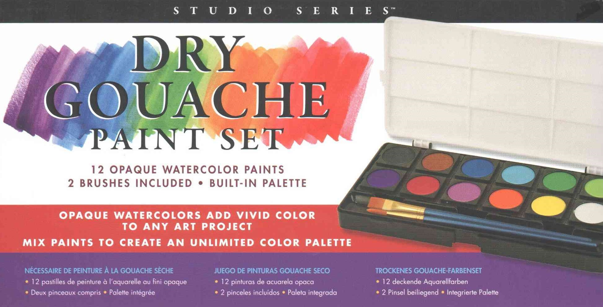 Studio Series Dry Gouache Paint Set