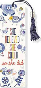 She Believed She Could Beaded Bookmark - Lifestyle Bookmarks