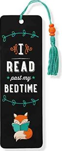 I Read Past My Bedtime Beaded Bookmark - Lifestyle Bookmarks