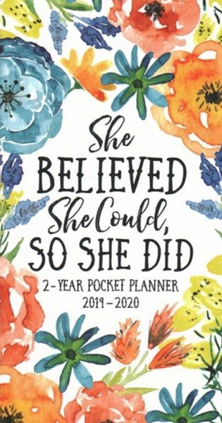 She Believed 2019-20 Pocket Planner