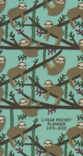 Sloths 2019-20 Pocket Planner