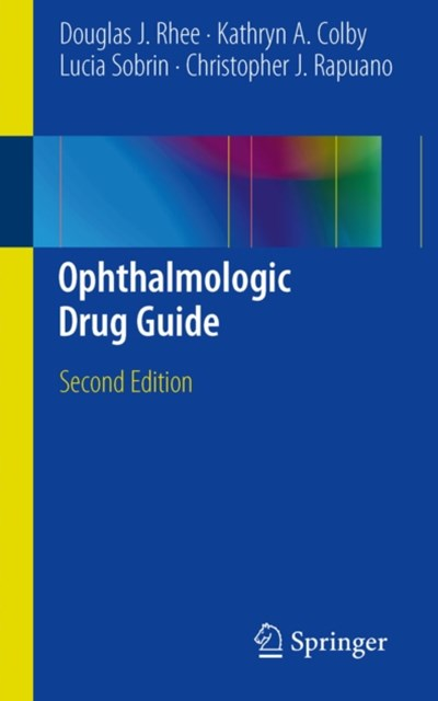 (ebook) Ophthalmologic Drug Guide