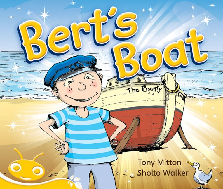 Bug Club Early Phonic Fiction Yellow: Bert's Boat (Reading Level 6-8/F&P Level D-E)