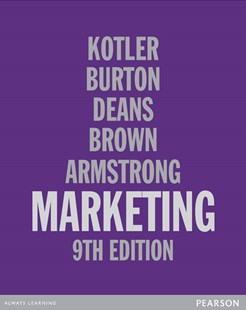 Marketing by Philip Kotler, Suzan Burton, Kenneth Deans, Linden Brown, Gary Armstrong (9781442549425) - HardCover - Business & Finance Sales & Marketing