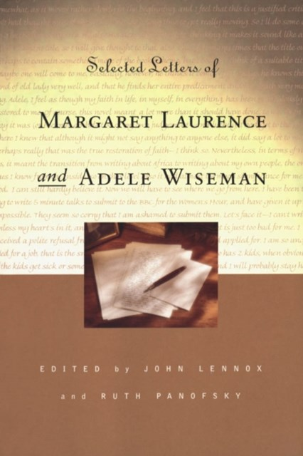 (ebook) Selected Letters of Margaret Laurence and Adele Wiseman