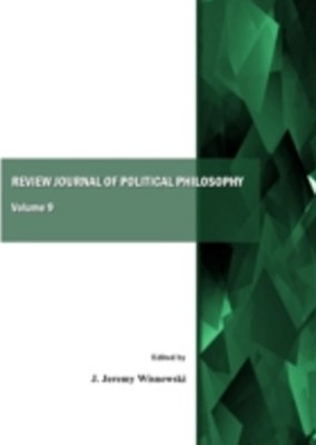 Review Journal of Political Philosophy, Volume 9