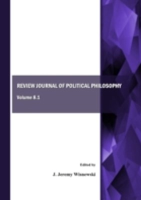 Review Journal of Political Philosophy, Volume 8.1