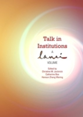 Talk in Institutions