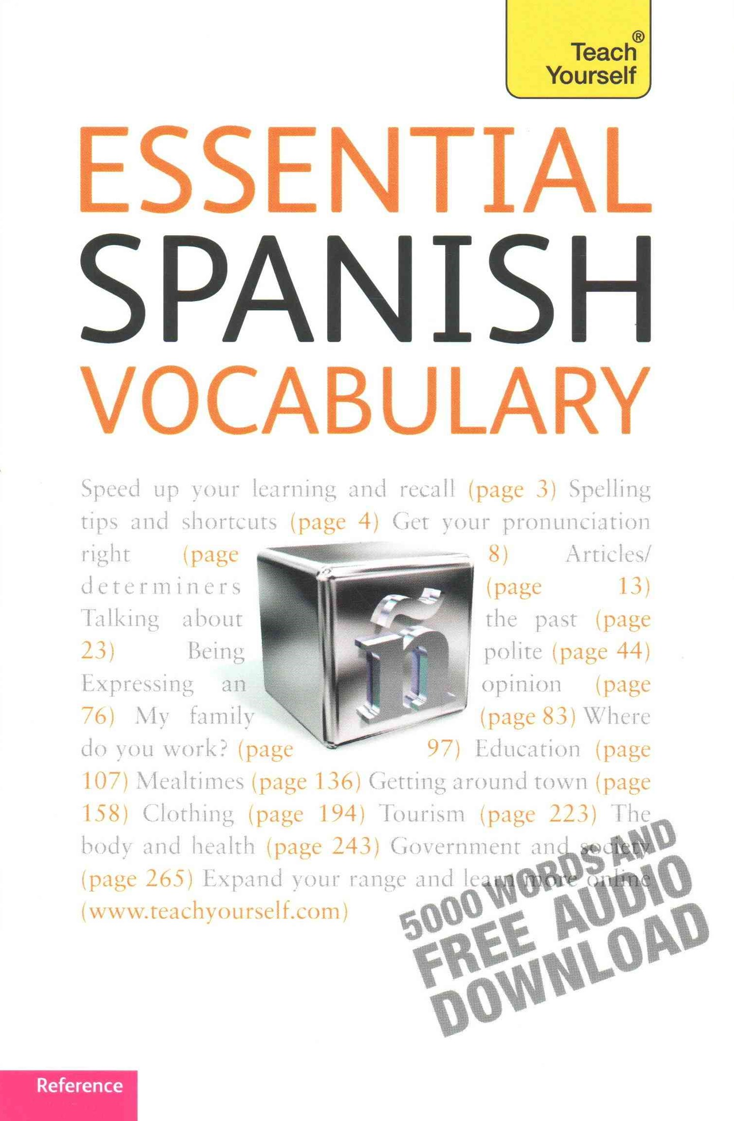 Essential Spanish Vocabulary: Teach Yourself