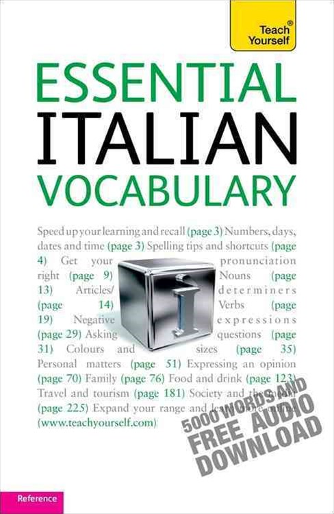 Essential Italian Vocabulary: Teach Yourself