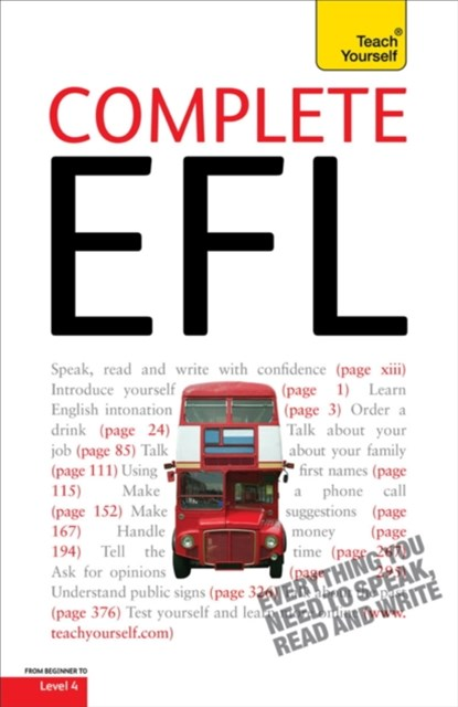 Complete English As A Foreign Language: Teach Yourself