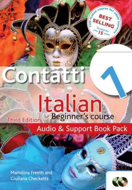 Contatti 1 Italian Beginner's Course Audio and Support Pack