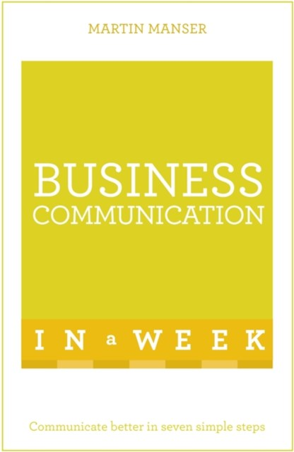 (ebook) Successful Business Communication in a Week: Teach Yourself