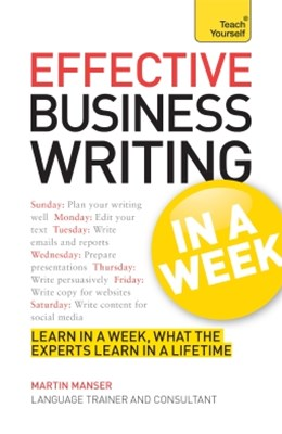 (ebook) Effective Business Writing in a Week: Teach Yourself