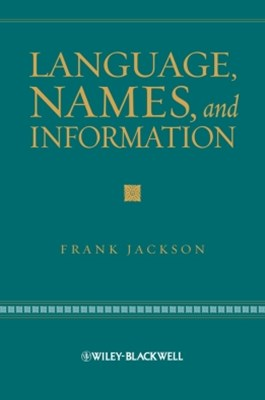 (ebook) Language, Names, and Information
