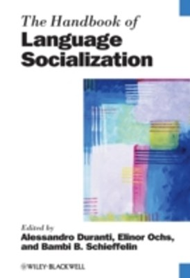 (ebook) Handbook of Language Socialization