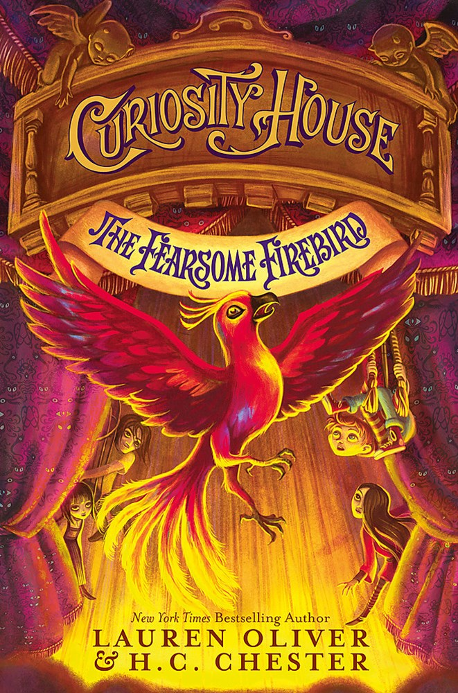 Curiosity House: The Fearsome Firebird (Book Three)