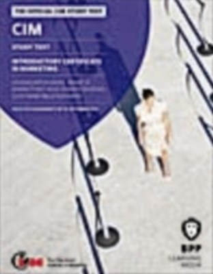 CIM Introductory Certificate in Marketing -Covers 2 Units 2012
