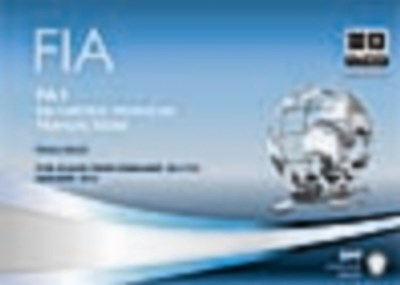 FIA Recording Financial Transactions - FA1 Passcards-2012-2013