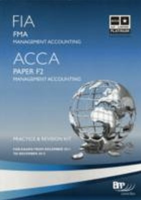 FIA Foundations in Management Accounting - FMA -Kit