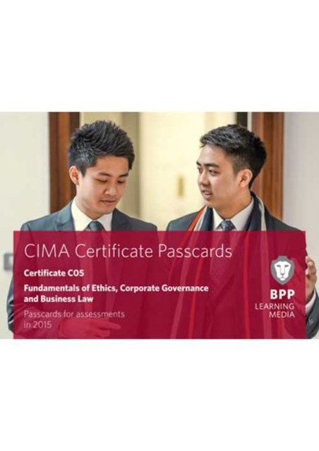 CIMA Fundamentals of Ethics, Corporate Governance and Business Law