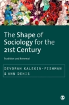(ebook) Shape of Sociology for the 21st Century