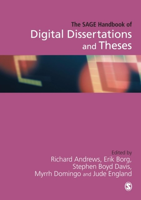 SAGE Handbook of Digital Dissertations and Theses